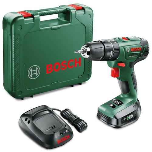 Аккумуляторная ударная дрель-шуруповерт Bosch PSB 1440 LI-2 1.5Ah x1 Case 06039A3220