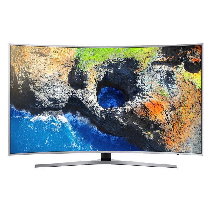 Телевизор ЖК 55″ Samsung UE55MU6500UX серый