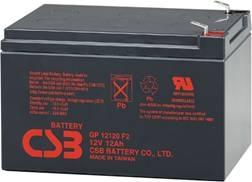 Батарея CSB <> GP12120 (12V 12Ah)