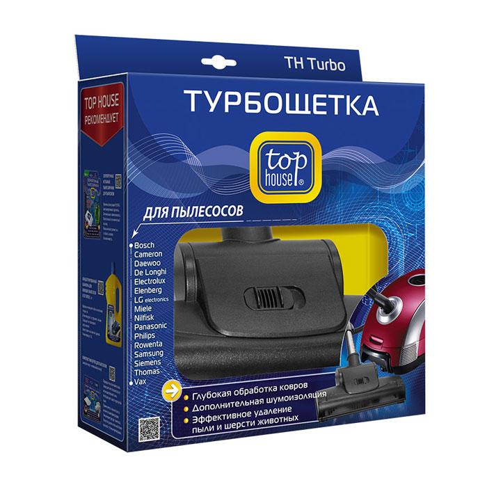 390315 TOP HOUSE TURBO Турбощетка для пылесосов + переходник 32-35 мм