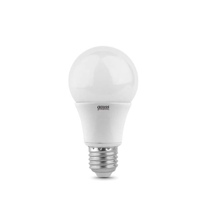 Светодиодная лампа Gauss Elementary A60 E27 20W 220V белый свет