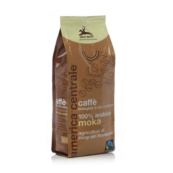 Кофе молотый натуральный жареный «Арабика», био, 250гр