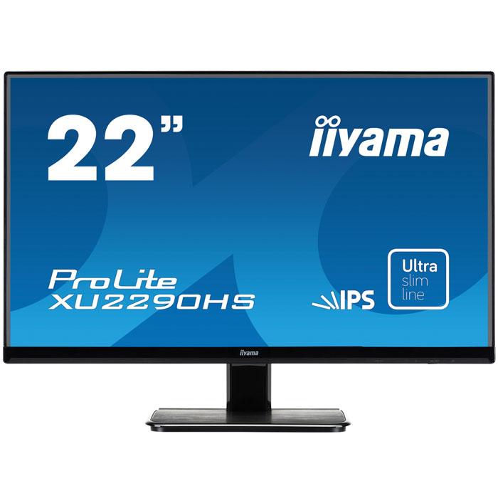 Монитор ЖК Iiyama ProLite XU2290HS-B1 22″ black VGA DVI HDMI