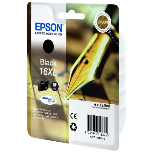 Картридж EPSON C13T16314010 Black для WF-2010W/2510WF/2520/2530/2540