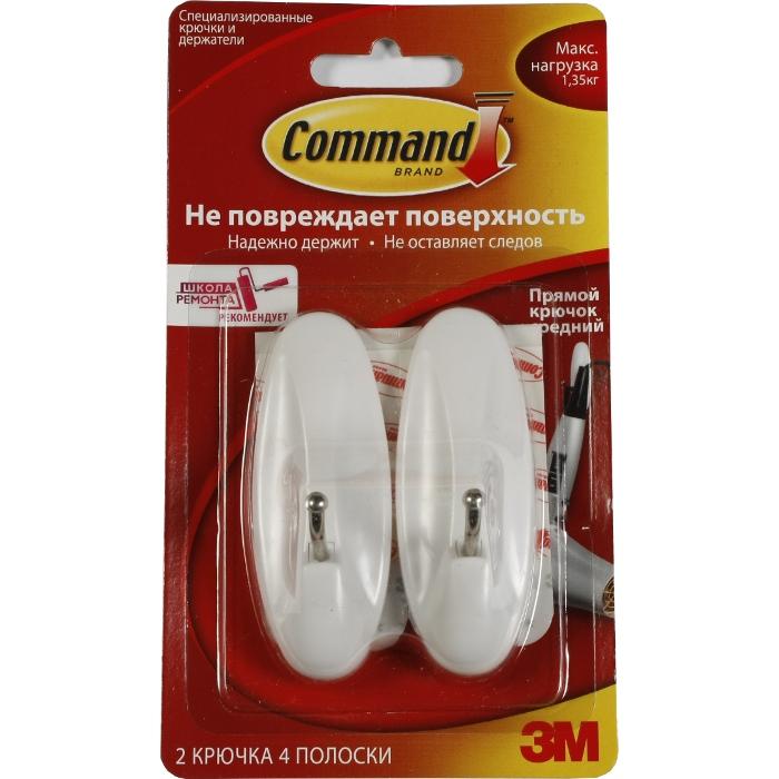Command 17068 Легкоудал. крючок прямой сред. 2шт 1,35кг new