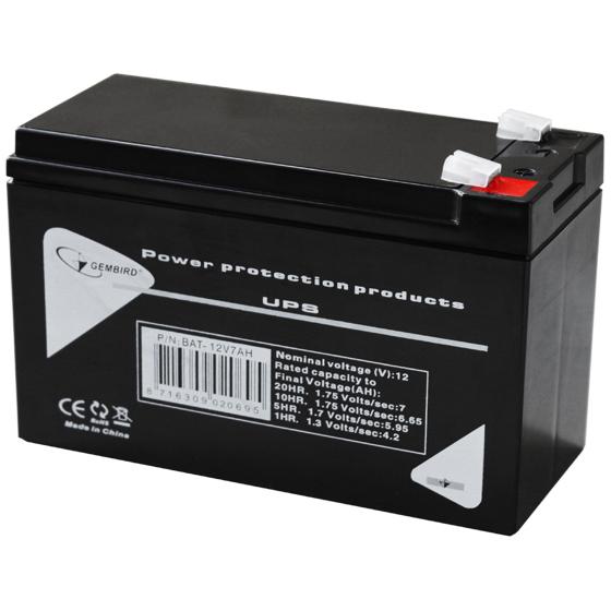 Батарея Gembird BAT-12V7AH ( 12V 7Ah/20HR )