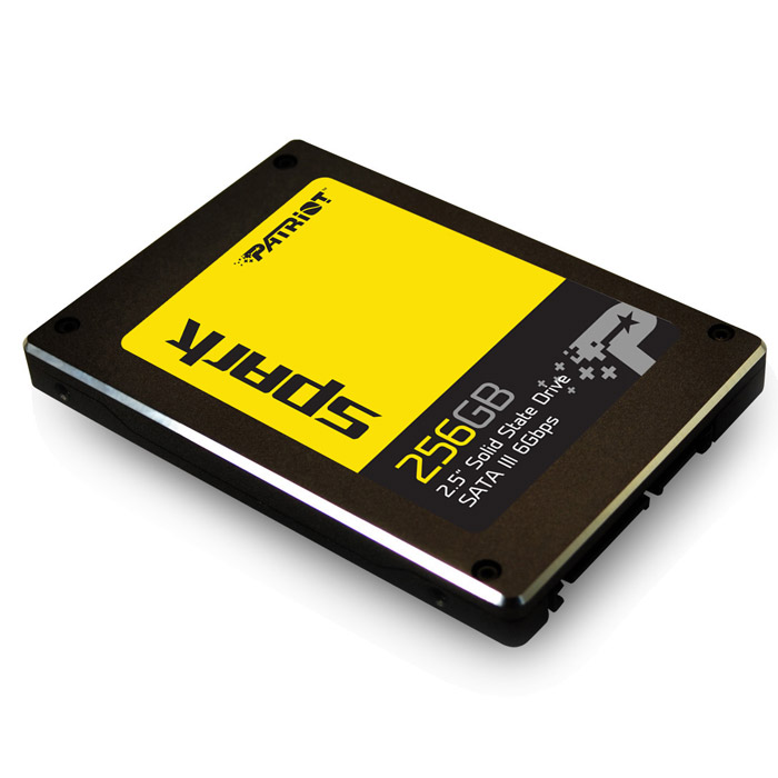 Накопитель 2.5″ SSD SATA3 256Гб Patriot Spark ( PSK256GS25SSDR )