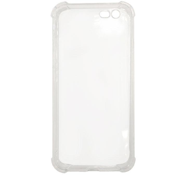 Чехол Gecko силиконовая светящаяся накладка для iPhone 6 Plus/iPhone 6s Plus, белая