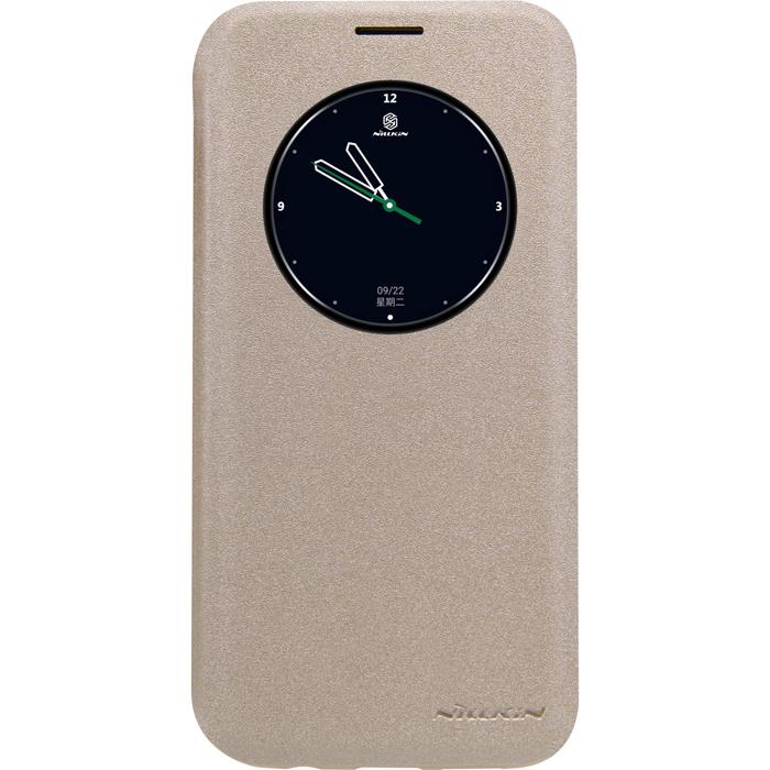 Чехол Nillkin Sparkle Leather Case для Samsung G935F Galaxy S7 edge, золотистый