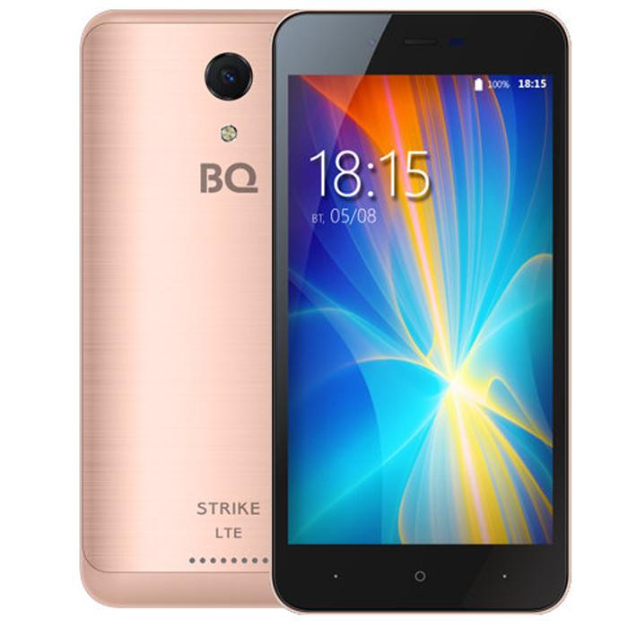 Смартфон BQ Mobile BQ-5044 Strike LTE Rose Gold