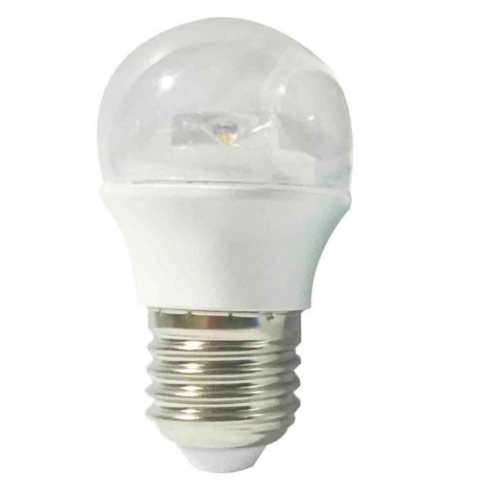 Светодиодная лампа ЭРА P45 E27 7W 220V Clear белый свет