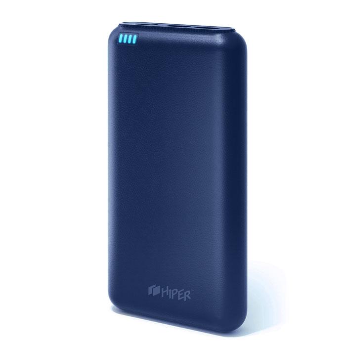 Внешний аккумулятор универсальный HIPER SP20000 20000mAh темно-синий