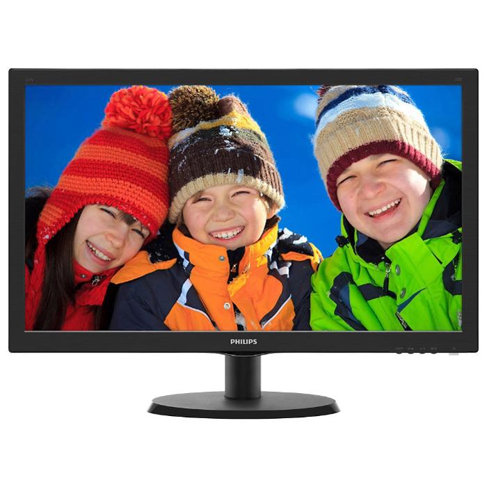 Монитор ЖК Philips 223V5QSB6 21.5′ IPS black VGA DVI