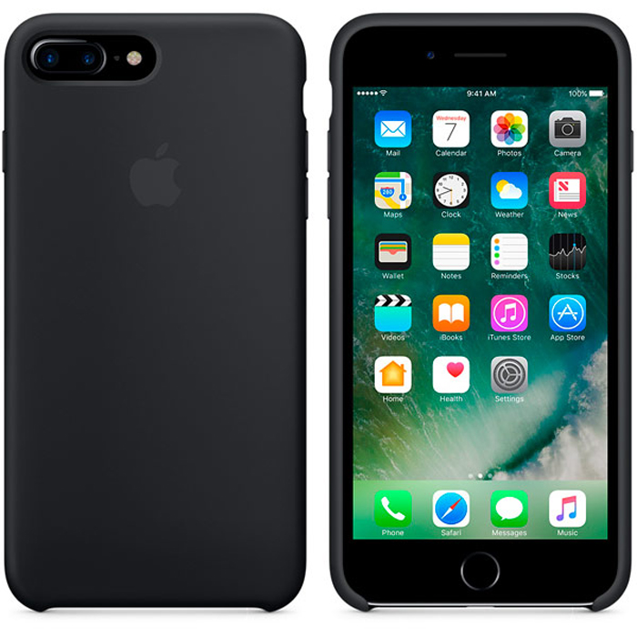 Чехол для Apple iPhone 7 Plus Silicone Case Black MMQR2ZM/A