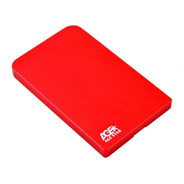 Корпус для HDD 2.5″ SATA-USB3.0 AgeStar 3UB2O1 Red