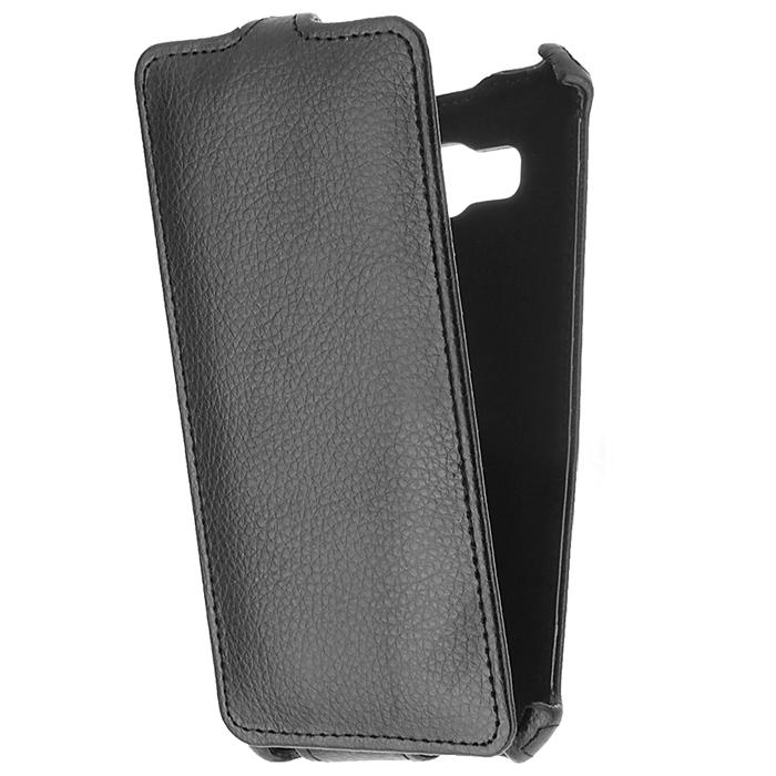 Чехол Gecko Flip case для Samsung Galaxy J5 (2016) SM-J510FN, черный