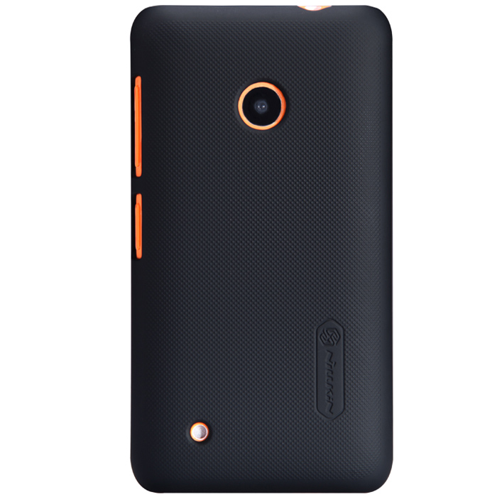 Чехол Nillkin Super Frosted Shield для Nokia Lumia 530, черный