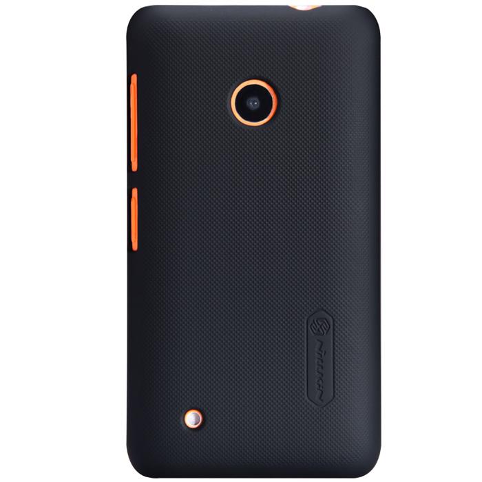 Чехол Nillkin Super Frosted Shield для Nokia Lumia 530, черный
