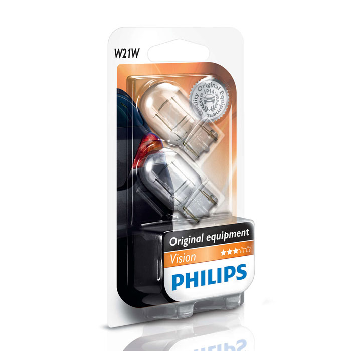 Лампа Philips W21W 21W 2 шт.