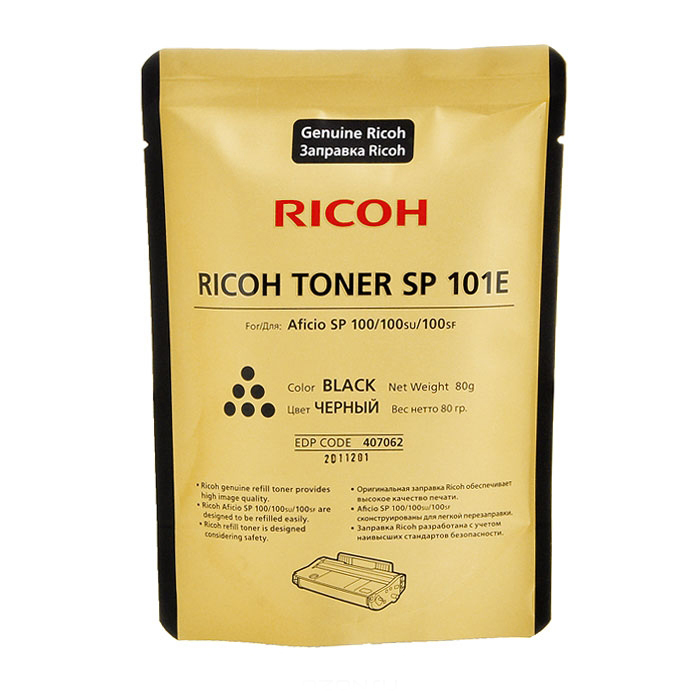 Тонер для заправки Ricoh type SP 101E 407062