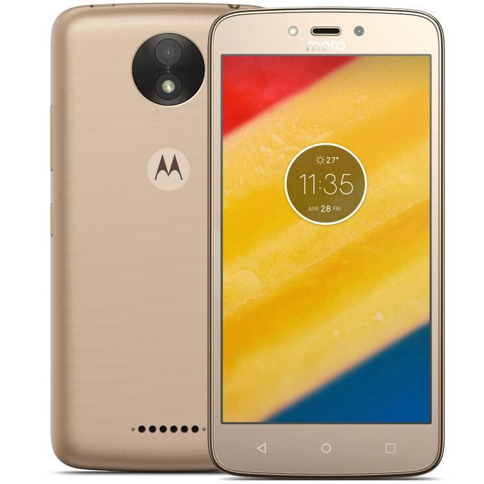 Смартфон Motorola Moto C Plus (XT1723) Gold