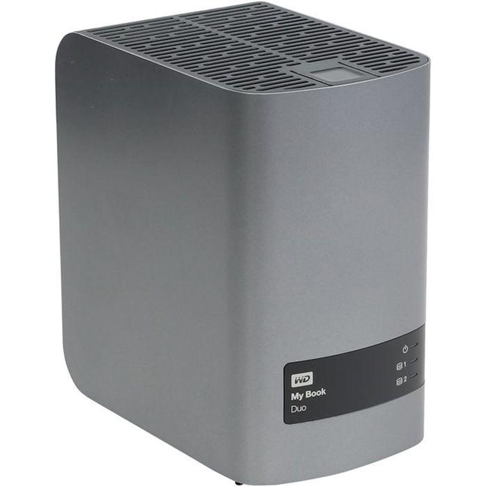 Внешний жесткий диск 3.5″ 6.0Тб WD My Book Duo ( WDBRMH0060JCH-EEUE ) USB 3.0 Черный