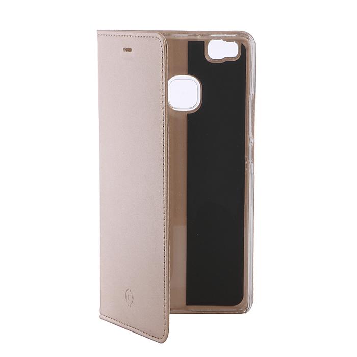 Чехол Celly Air Case для Huawei P9 Lite золотистый