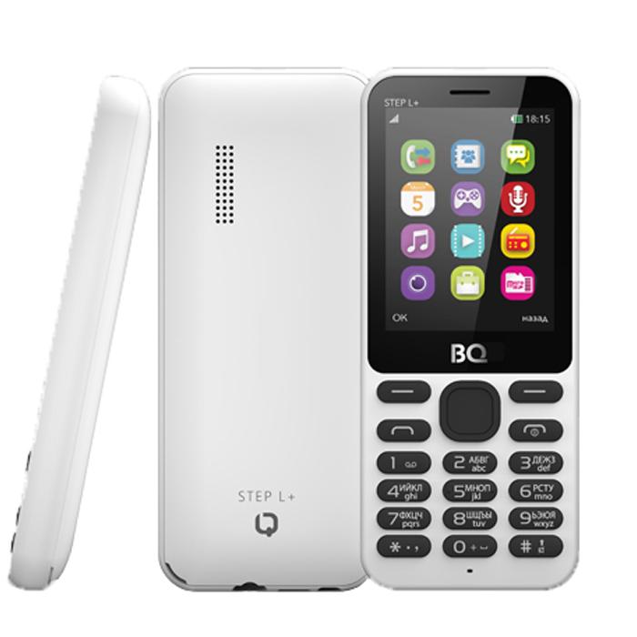 Сотовый телефон BQ Mobile BQ-2431 Step L+ White