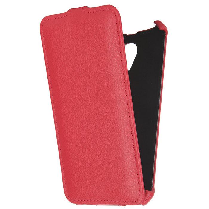 Чехол Gecko Flip для Philips Xenium V377, красный