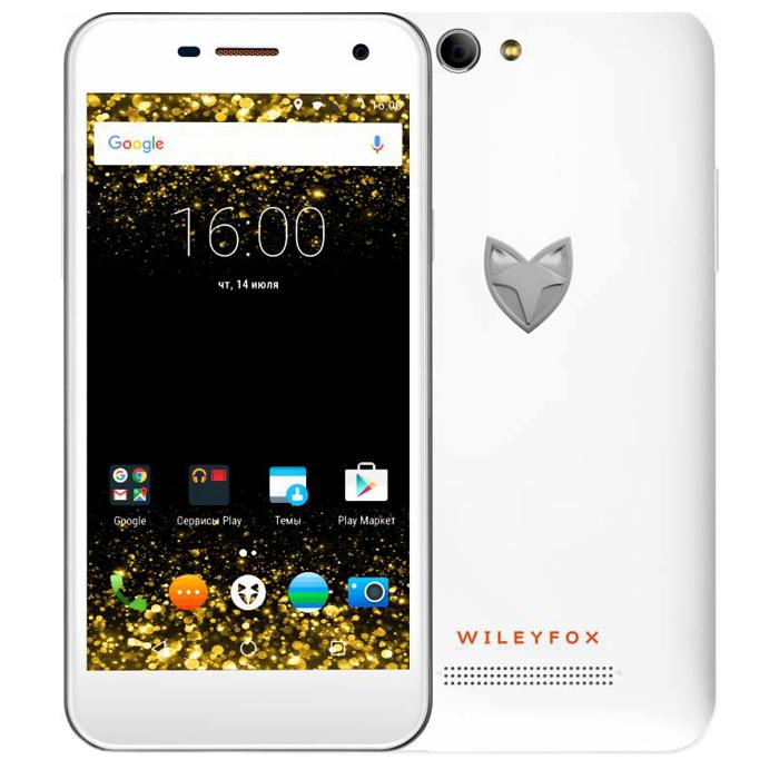 Сотовый телефон Wileyfox Spark White
