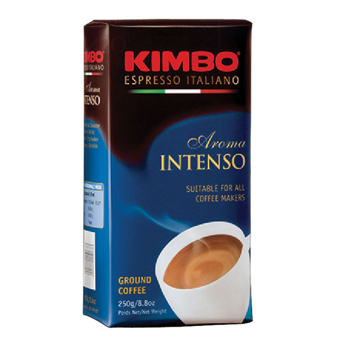 Кофе молотый Kimbo Aroma Intenso 250 гр в/у