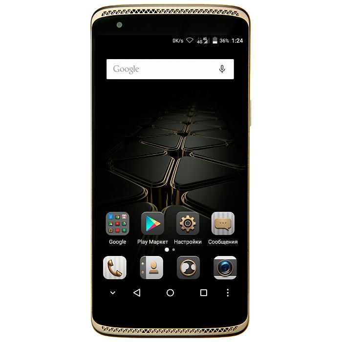 Смартфон ZTE Axon Mini 4G золотой