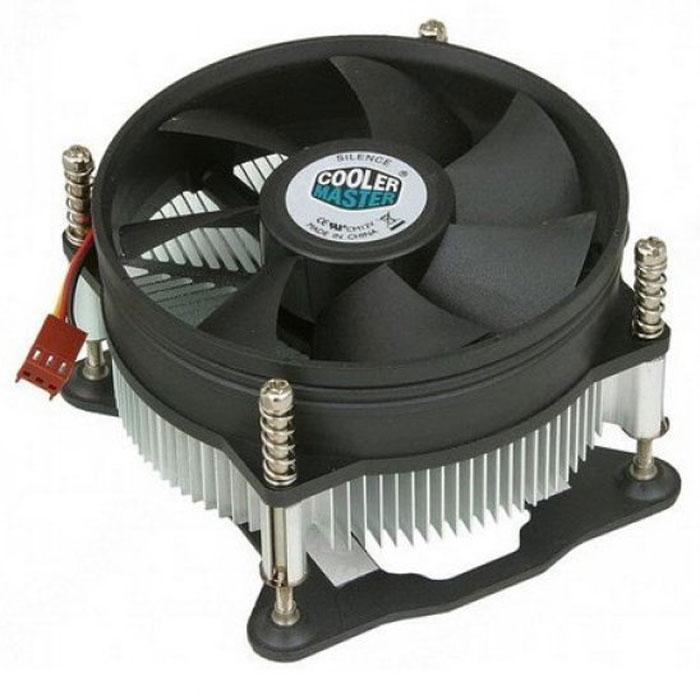 Устройство охлаждения(кулер) Cooler Master 1156/1155/1150 низкопрофильный ( DP6-9EDSA-0L-GP )