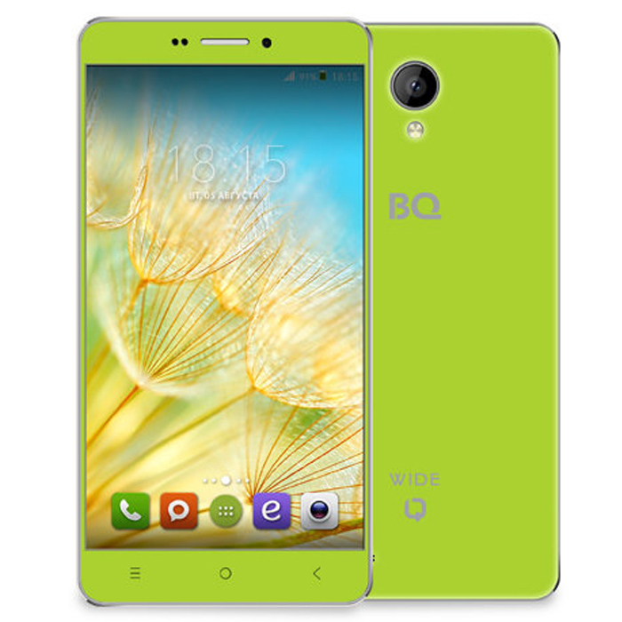 Смартфон BQ Mobile BQS-5515 Wide Green