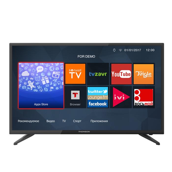 Телевизор ЖК 43″ Thomson T43D18SFS-01B черный