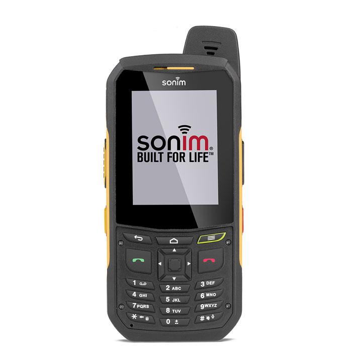 Защищенный смартфон Sonim XP6 yellow-black