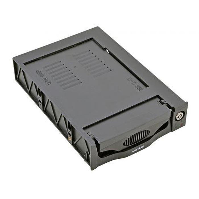 Мобильное шасси SATA AgeStar SR3P(K)-1F Black