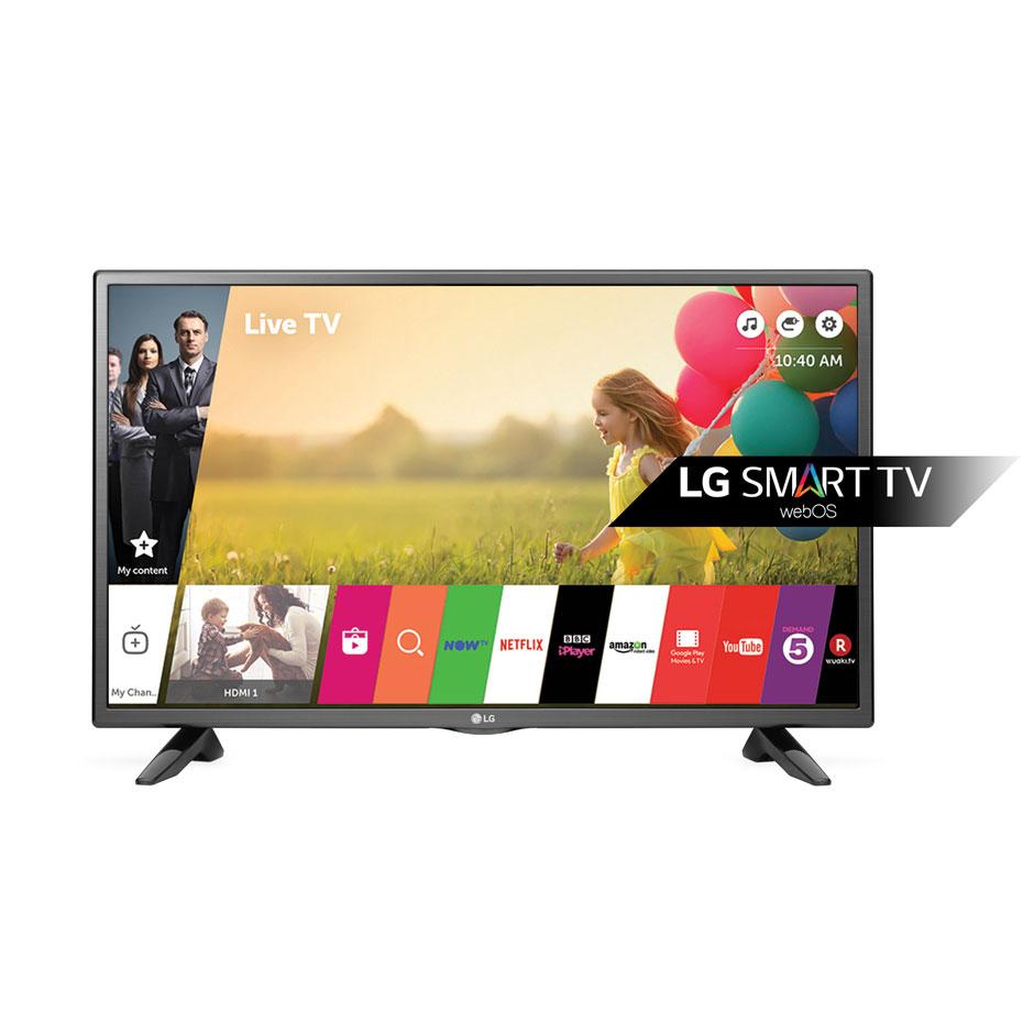 Телевизор ЖК 32″ LG 32LH590U черный