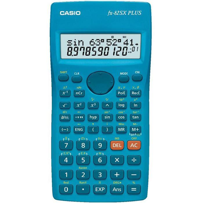 Калькулятор Casio FX-82SXPlus, 10+2 разрядов