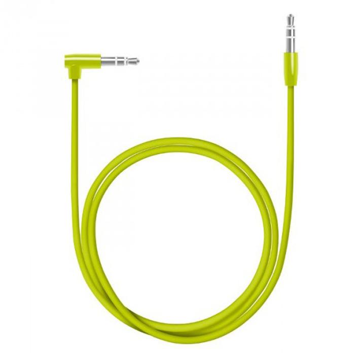 Кабель 3.5St.jack — 3.5St.jack 1.2м Deppa ( 72196 ) Green