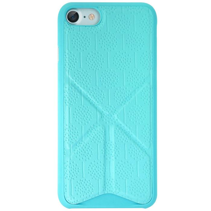 Чехол Ozaki O!coat 0.3 Totem Versatile для iPhone 7, голубой