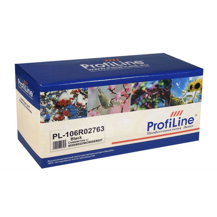 Картридж ProfiLine PL-106R02763 Black