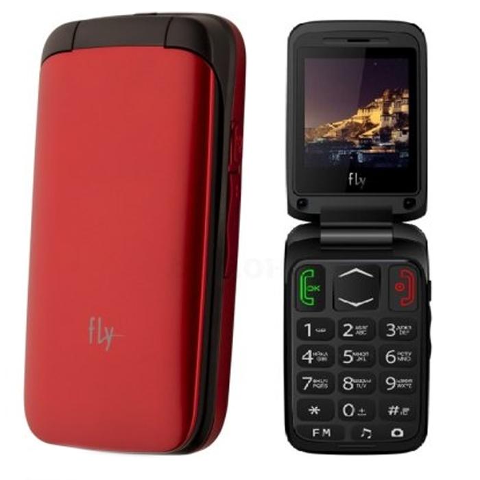 Сотовый телефон Fly Ezzy Trendy 3 Red
