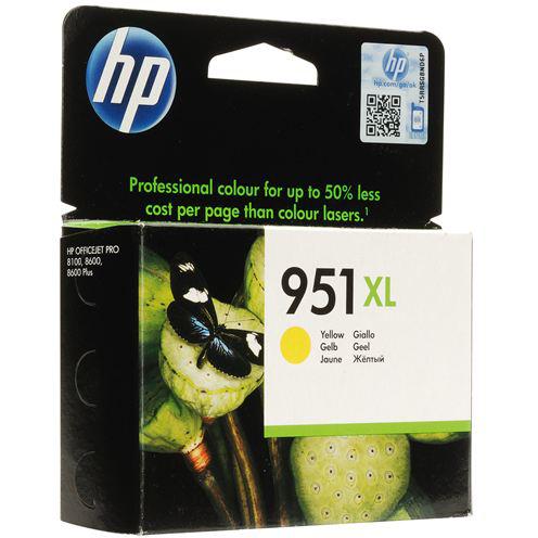 Картридж HP CN048AE №951XL Yellow (1500 стр.)