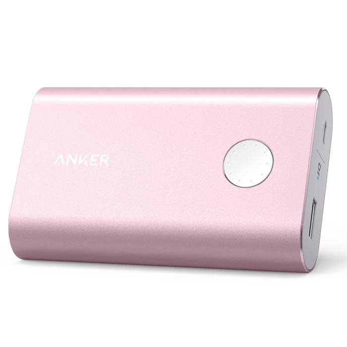 Внешний аккумулятор универсальный Anker Powercore+ A1310H51 10050mAh розовый