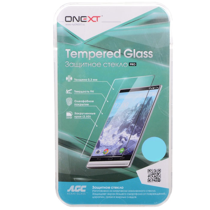 Защитное стекло Onext для Samsung Galaxy J3 (2016) SM-J320F