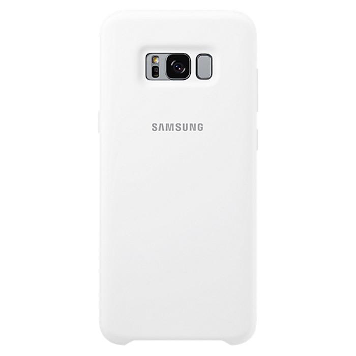 Чехол Samsung Silicone Clear для Samsung Galaxy S8+ SM-G955, белый