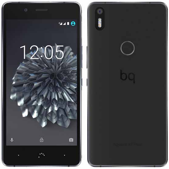 Смартфон BQ Aquaris X5 Plus 16GB 2GB RAM Black/Grey