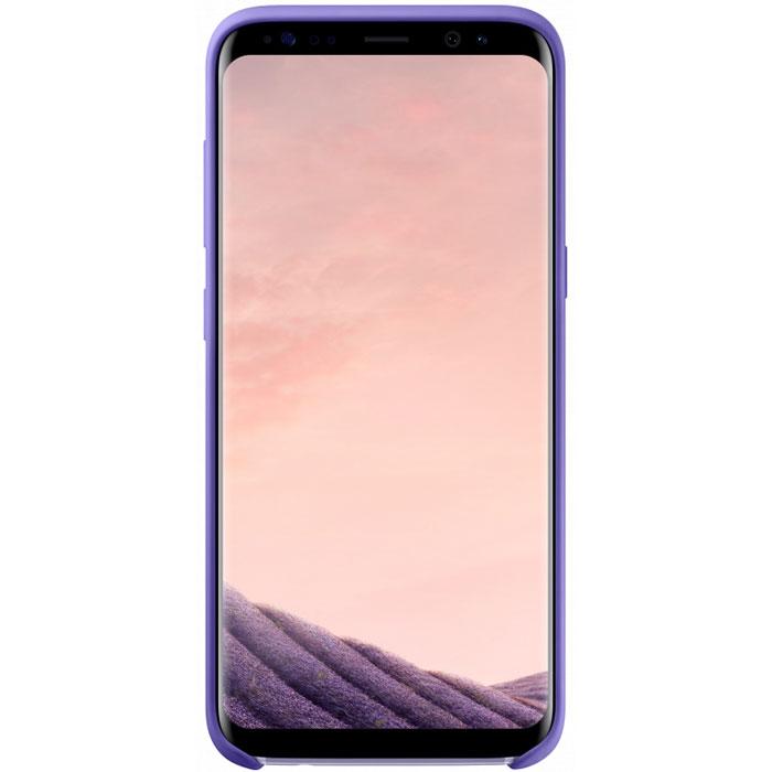 Чехол Samsung Silicone Cover для Samsung Galaxy S8 SM-G950, фиолетовый