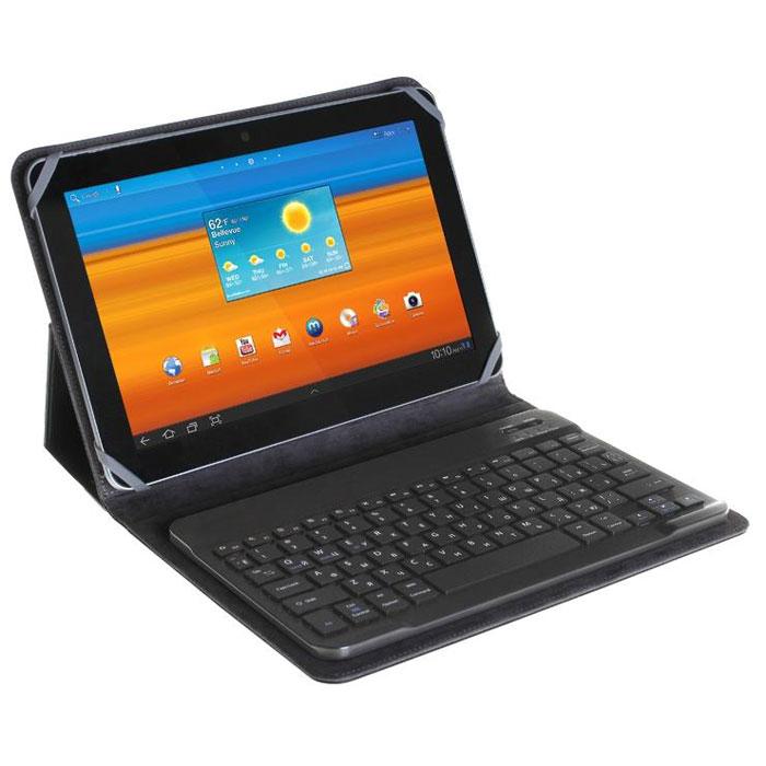 Универсальный чехол в комплекте  Bluetooth клавиатура 7″ Untamo UKBC-010, черный